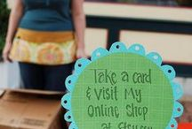 Tips & Tricks for Craft Fairs / Lots of ideas for creative displays at craft fairs, selling tips & tricks and advice for merchandising your products effectively.