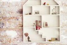 Nurseries: Jugando a las casitas / Casitas dentro de habitaciones