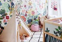 Nurseries: Walpapers & Vynils / Habitaciones empapeladas con personalidad propia