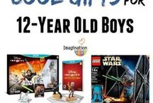 Gifts for 12 Year Old Boys / Totally awesome gifts for 12 year old boys for their 12th birthday or Christmas.