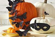 HALLOWEEN DECORATING IDEAS / Fun Halloween decor, craft and entertaining ideas...