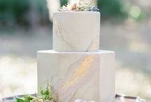 Wedding Sweet Things / Inspiration for cakes, desert bars, candy bars and anything yummy!