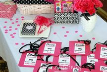 """It's a Girl Thing / Variety of girls party ideas: food, themes, decor. Popular """"Glamping"""" for slumber parties and more!  / by Zperfect Party"""