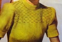 Vintage Knitting/Crochet