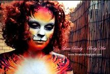 Makeup Monday - Best Fantasy Makeup / These are the amazing submissions for Best Fantasy Makeup :)   www.crownbrush.com.au