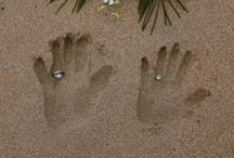Beach wedding)