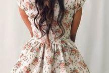 Floral Prints / Floral prints, dresses, cute clothes