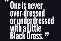 Little Black Dress / all about the little black dress #littleblackdress #LBD / by The Stylish Housewife