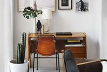 writing space | home library