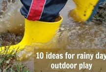 ECE Outdoor Play / ideas for outdoor play experiences in early childhood settings / by Jennifer Kable