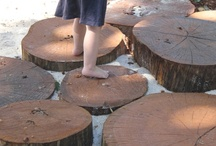 ECE Outdoor Learning Environment / inspiration to create an outdoor playscape full of magic, awe and wonder. / by Jennifer Kable