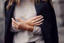 My style -- Simple and feminine