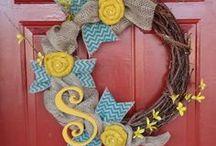 I <3 Wreaths / by Toni Van Vooren