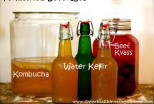 Fermented Foods / Kombucha, kefir and whatever else I can learn how to make for improved gut health.