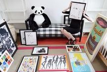Ioni's Nursery / One Kings Lane helped me decorate this room for one lucky little lady.. / by Coco Rocha