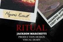 """""""Ritual"""" Production Design / Production design work from the short film I worked on titled """"Ritual"""""""