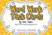 Word Work / by Bonnie Blanck