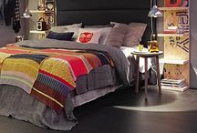 Bedrooms and closets / With a Modern twist