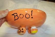 PYOP Halloween / Ideas and inspiration for creating crafts for Halloween at paint your own pottery studios!