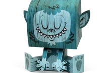 paper toys & art