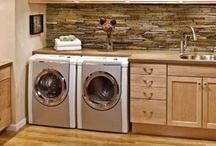 Clean Laundry Room