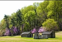 Spring in Valley Forge / Ready for spring? We sure are. There is no better place to be than Valley Forge, PA. Beautiful dogwoods and redbuds flower at Valley Forge National Historical Park. Nearby King of Prussia Mall boasts 400 stories for you to revitalize your fashion and shop the newest trends. www.valleyforge.org