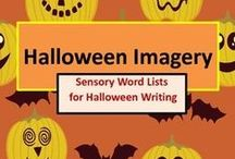 Halloween Resources / Teaching resources for Halloween. Please do not pin more than three pins per day. Add free items or ideas, too. Don't pin the same pin over and over. Variety is the spice of life. :)