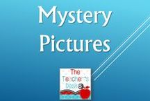 Mystery Pictures / Language Arts printables for practicing parts of speech, synonyms, spelling rules, etc.