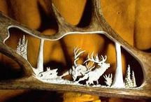 Antler Magic / Whether still on the animal, or as sheds made into cool stuff for the home, antlers are magical creations.