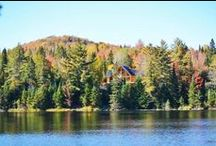 Sweet Lake House Dreams / A lake out front and woods out back.  That's my sweet lake house dream.  Here are some of our favorites. If you'd like to contribute, follow our boards & please leave a message on a new post. Thanks! http://rusticartistry.com