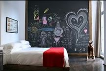 Bedroom Chalkboard Wall / by Quartet Brand