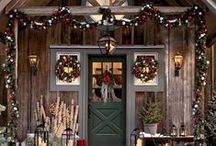 Rustic Christmas / Ideas and inspiration for a rustic chic Christmas