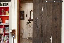 Barn Doors / We love barn doors. Here are some of our favorites.