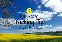 Travel Tips / Ideas for getting ready for a trip, planning for a trip or tricks to use while traveling.