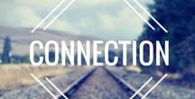 Connection / Exploring how to make conversations more meaningful and how to move towards others instead of away in difficult situations.