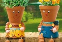 Garden whimsy / by Jeanne Scottie mom