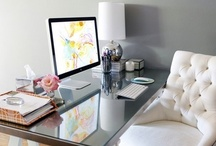 Office and Organizing / Simple and pretty office and organization pictures. Also some DIY.