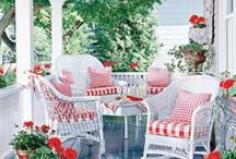 Porches or sunrooms / by Jeanne Scottie mom