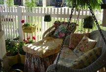 Flowers-for Moi-on My porch. / Love my porch!!!!!!!!!!!!!! / by Jeanne Scottie mom