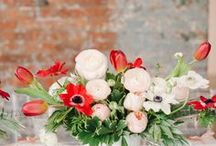 Centerpieces / by Petals and Leaves Wedding and Event Florist
