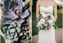 Bouquets / by Petals and Leaves Wedding and Event Florist