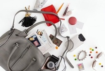 Inside Purses / I am nosy and I love seeing the contents of a sophisticated woman's purse.
