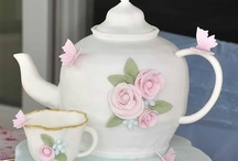 Tea Pot Memories / I love teapots!  My mom had a collection of almost 300 of them.  She passed away in 2009, and I got them.. Keeping some a selling some. Hope u love them as much as my mom did! :) :>