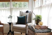 Window Treatments and Fabric Possibilities / by Missy G.
