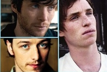 [ Cillian // James // Eddie ] / Cillian Murphy // James McAvoy // Eddie Redmayne / by Stephanie W!llett