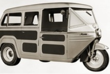 1930s - 1950s / Mazda production vehicles from the 1930s through to the 1950s.