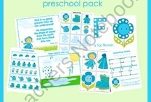 Homeschool - Packs/Printables/Unit Studies / by Sarah Elliott