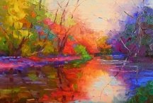 Lakes, Marshes, Rivers & Ponds - Paintings / by Gypsy