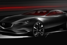 Concept Vehicles / Throughout its history, Mazda Design has explored various forms that depict 'motion'. In recent years, this has been fused with the graceful beauty found in movement in nature, in wind and the flow of water, to realise a unique design expression for Mazda. The KODO design language is the underlying design philosophy for the next generation of Mazda cars, seen in Mazda's latest concept cars – Shinari, Minagi and Takeri.