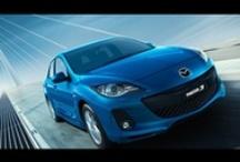 Current Mazda Range / The current Mazda vehicle range, including Mazda2, Mazda3, Mazda3 MPS, Mazda6, MX-5, CX-5, CX-9 and the Mazda BT-50.